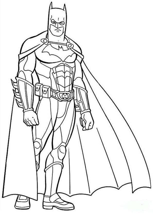 malvorlagen kostenlos batman -4