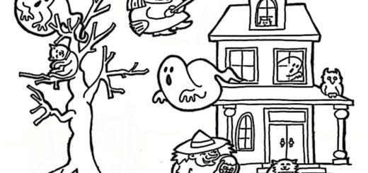 malvorlagen kostenlos halloween -3 8