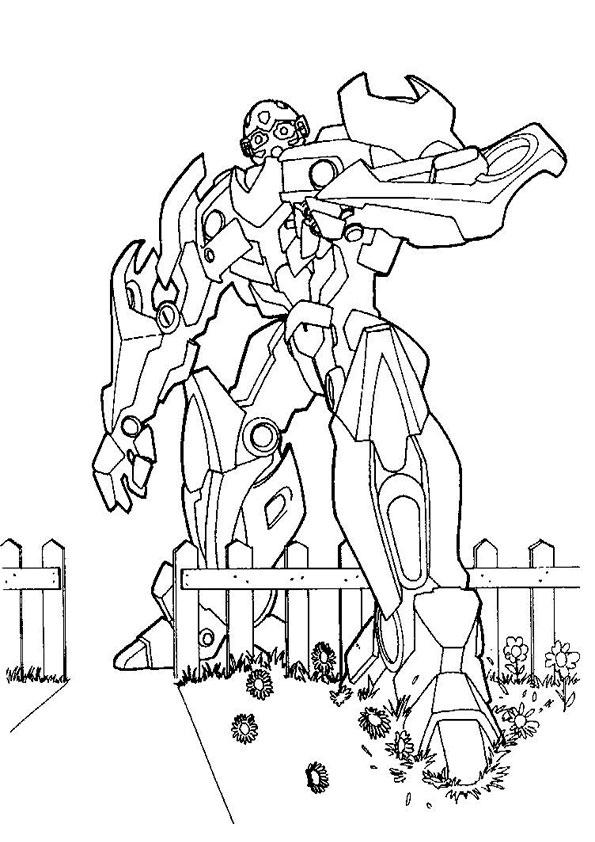 malvorlagen kostenlos transformers-3