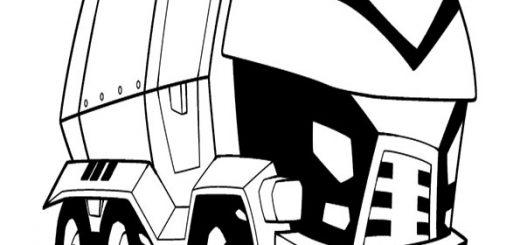 malvorlagen kostenlos transformers -4