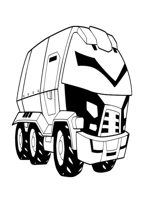 malvorlagen kostenlos transformers-4
