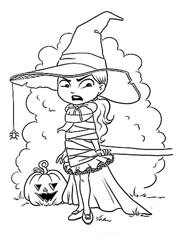 malvorlagen kostenlos  halloween-49